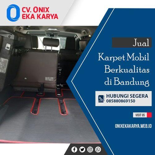 Karpet mobil berkualitas bandung
